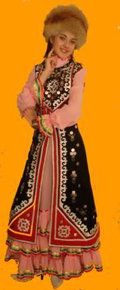том что национальный женский костюм юго-восточных башкир планируете носить